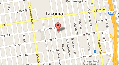 Contact Us BECKWITH DUI LAW - Us tacoma map
